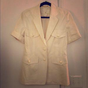 Vintage Escada short sleeve blazer